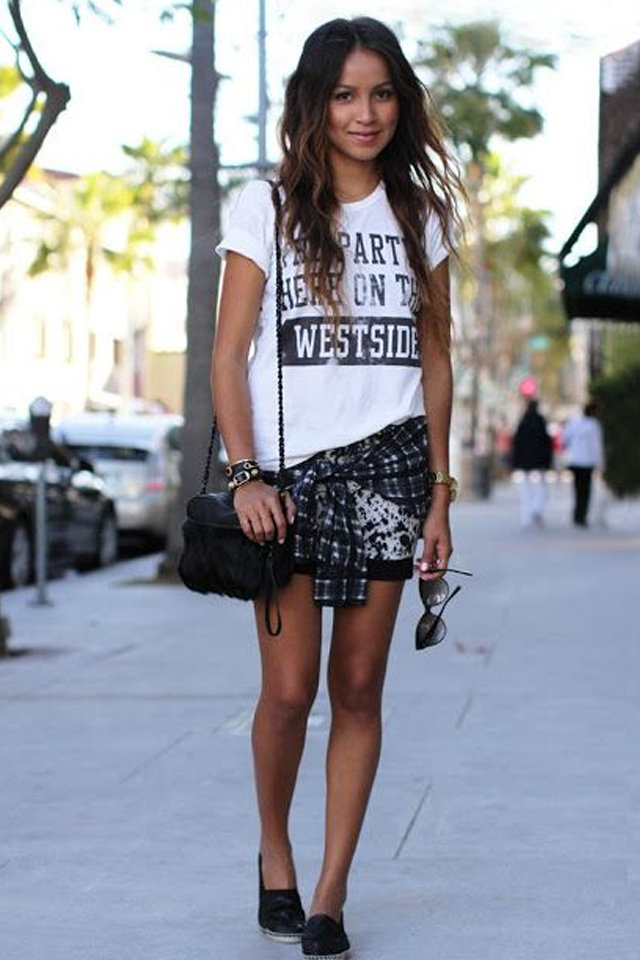 10 Different Ways to Wear a Statement T-shirt