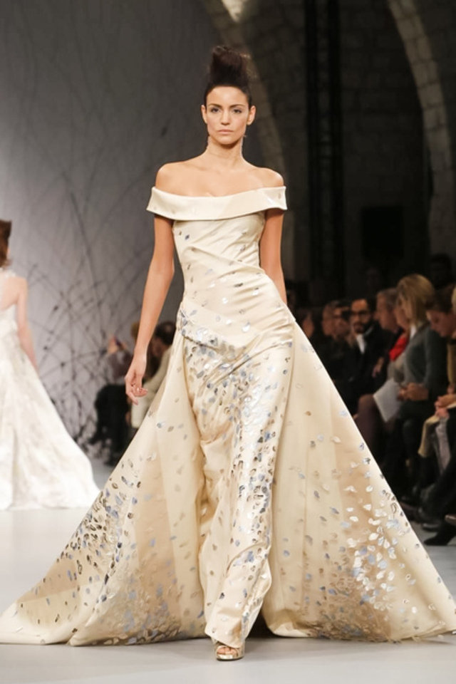 Arab fashion designers at paris haute couture fashion week for Haute couture designers
