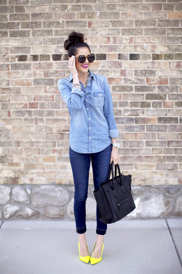 Seven Styling Tips to Wear a Denim Shirt