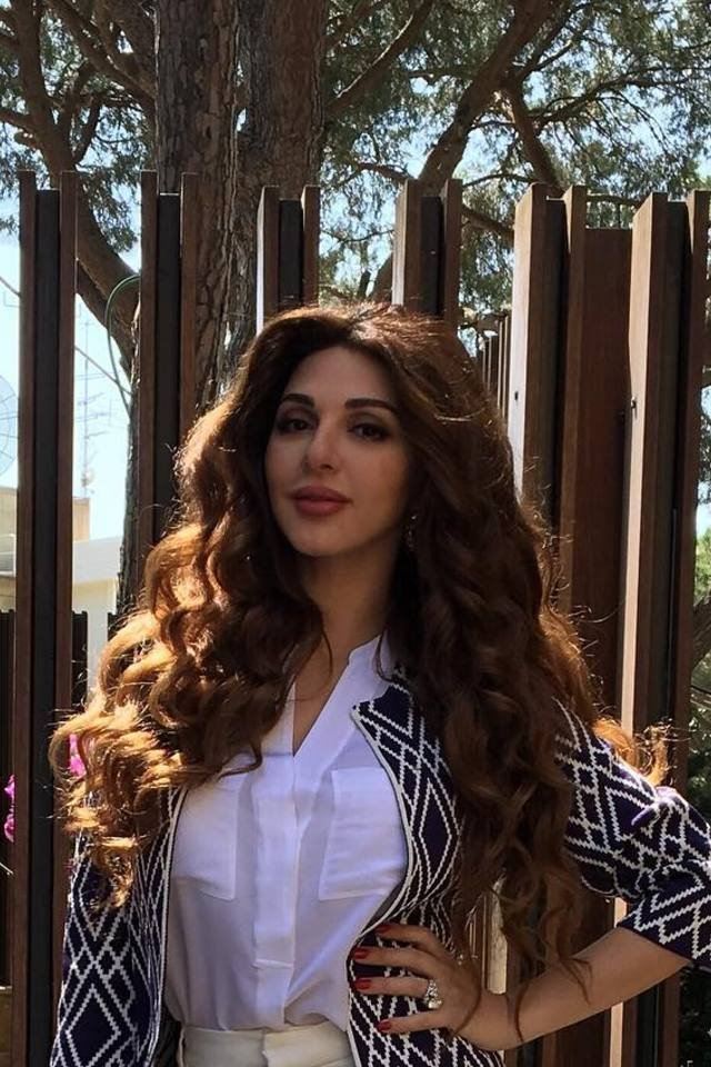 Myriam Fares The Ultimate Definition Of Curly Hair Goals