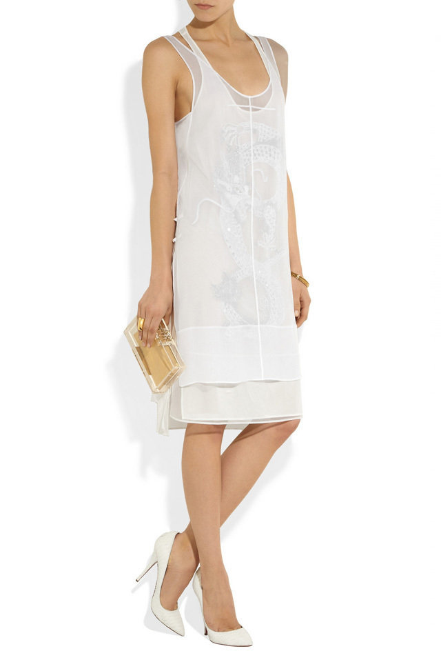 little white dresses for summer 2013