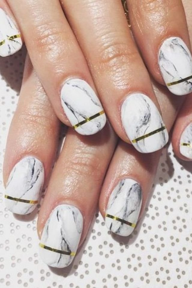 Marble Nail Art Designs Step By Step