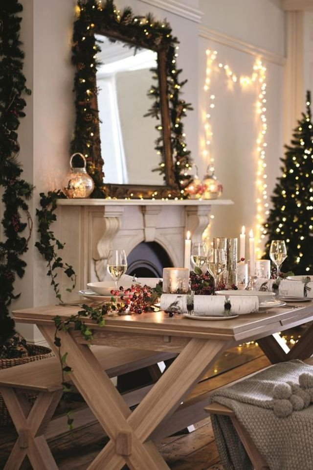 26 Photos Of Modern Christmas Decorations That Will