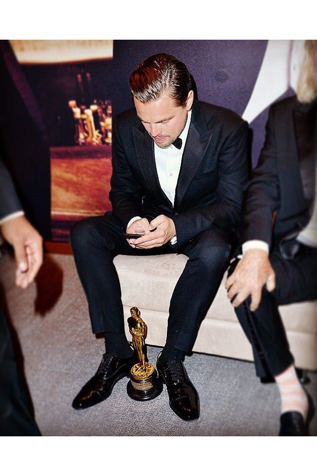 Oscars 2016: Best Celebrity Instagram Photos Leonardo Dicaprio Instagram