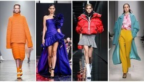 Really Bright Colors Are Still Going Strong For Fall 2020 Fashion Week