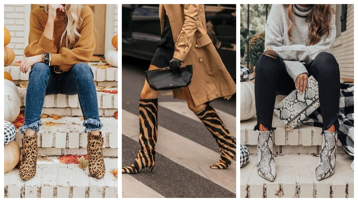 Animal Print Boots Trend 2021