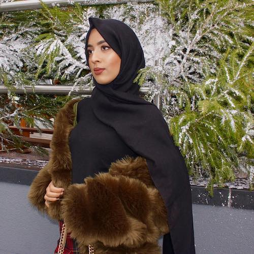 How to wear layers with hijab