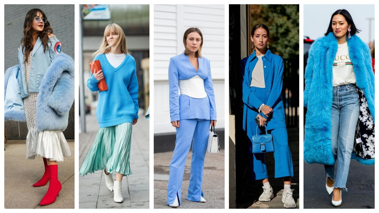 Blue and white outfit ideas