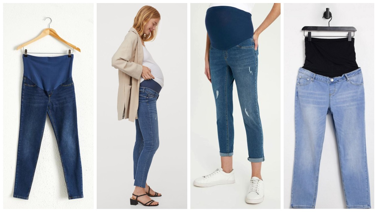 when to buy maternity jeans