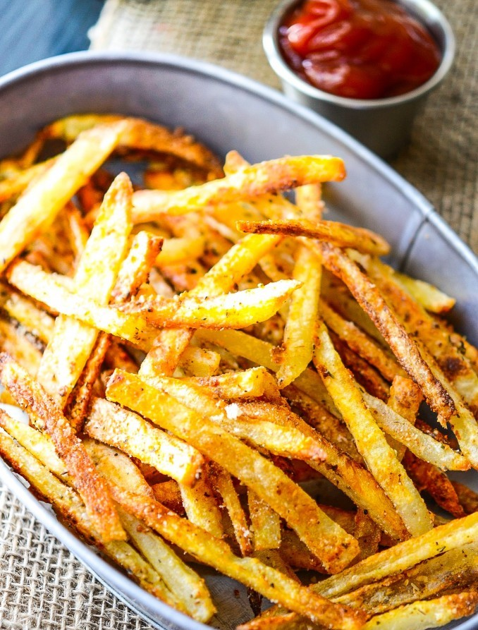 different ways to eat french fries