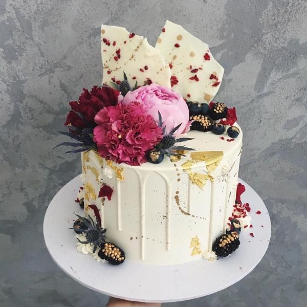 طريقة عجينة السكر , كيفية تحضير تورتة بعجينة السكر 2021 How-to-make-a-cake-i