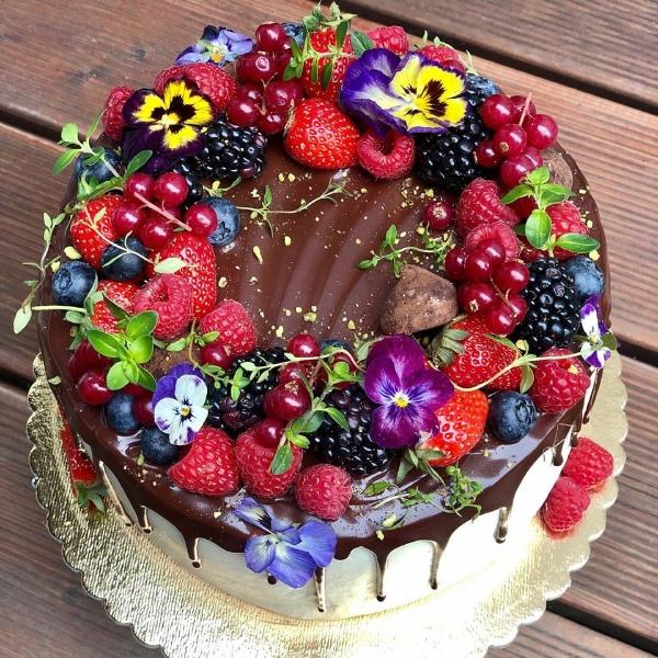 تورتة الفواكه , تورتة عيد ميلاد 2021 How-to-make-a-cake-i