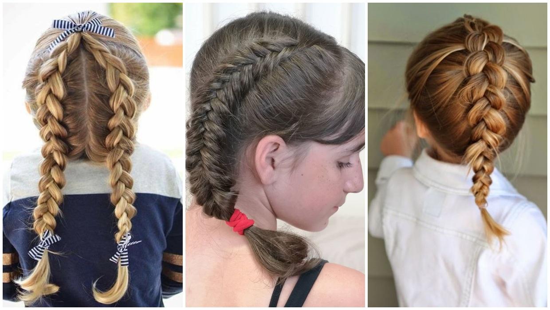 أفكار تسريحات شعر للبنات في المدرسة|بالصور