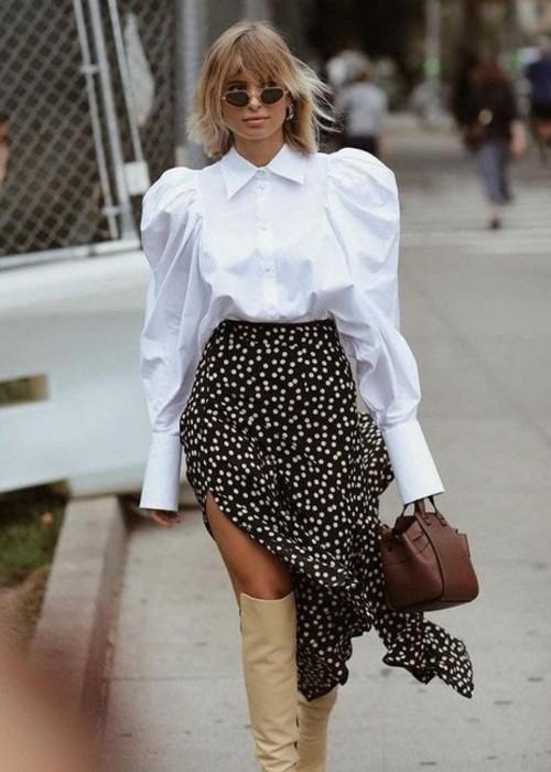 white shirt style tips for rectangle body shape
