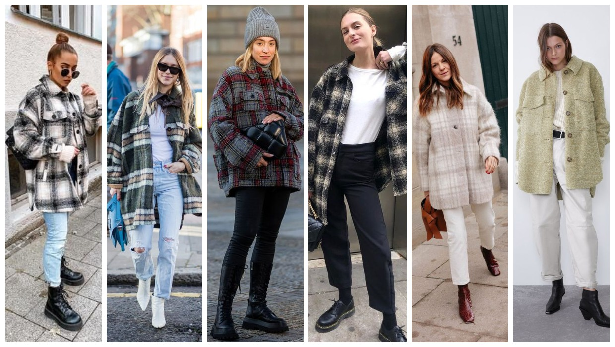 overshirt outfit ideas