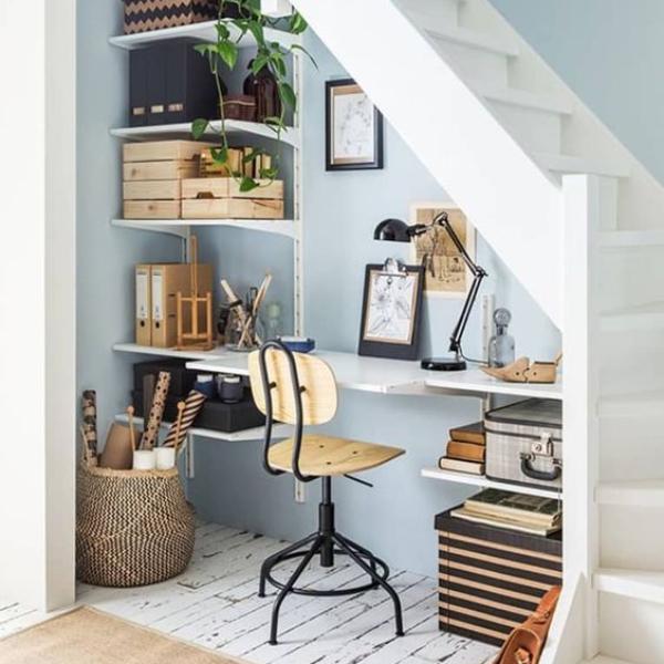 أفكار مبتكرة لتزيين السلالم الداخلية لمنزلك|بالصور
