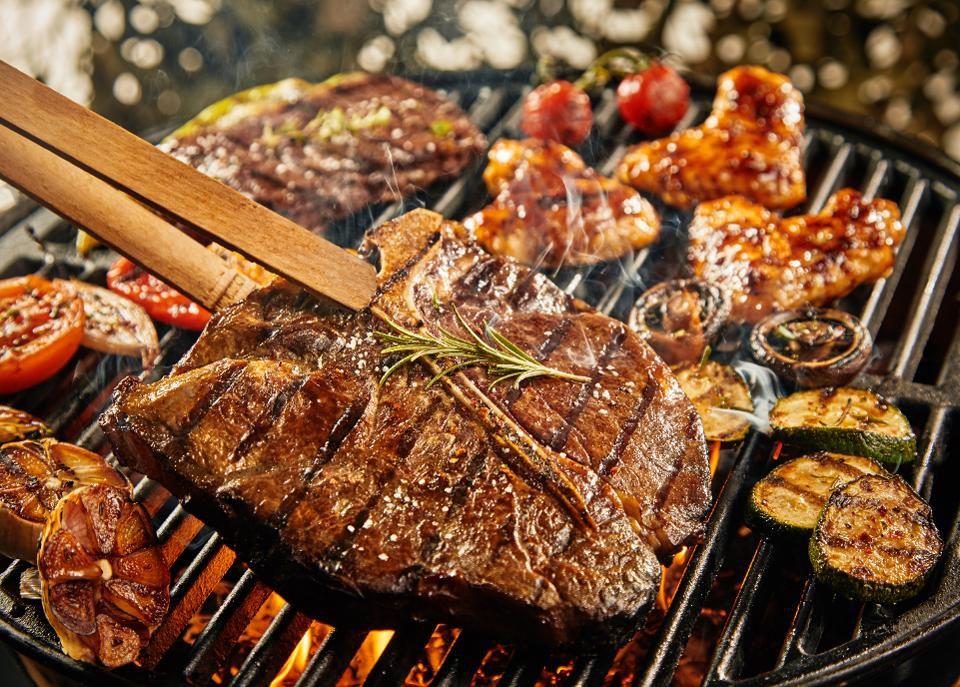 طريقة شوي اللحم