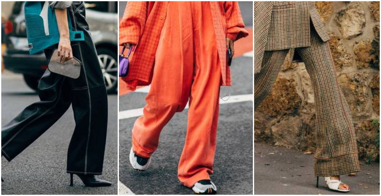 How to Style Wide Legged Pants