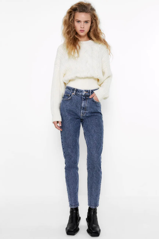 must have jeans: mom jeans