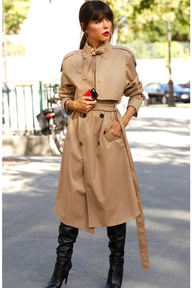 Trench coat outfit ideas