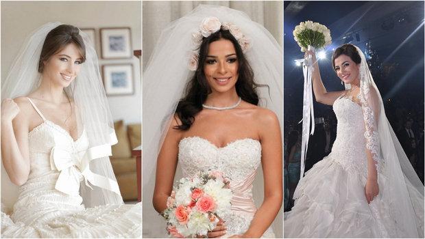 14207f3c15060 موضة Header image article main fustany celebrities wedding dresses