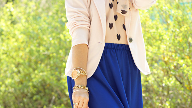 fcd030415 موضة Header image article main fustany ideas to wear blazers with hijab