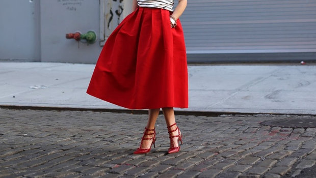 362243d58d714 موضة Header image article main fall 2013 trends full skirts