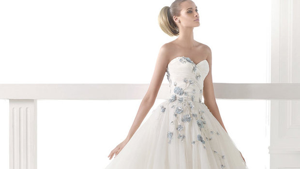 aed6dc4eaa565 موضة Header image article main fustany pronovias new wedding dresses  collection 2015