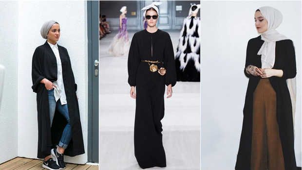 84de462f2 موضة Header image black abaya outfits and how to style them ar fustany main  image