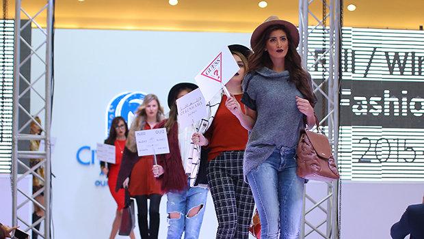 242af5a3d عرض أزياء أنيق في سيتي سنتر الإسكندرية لاستعراض أحدث صيحات شتاء 2016