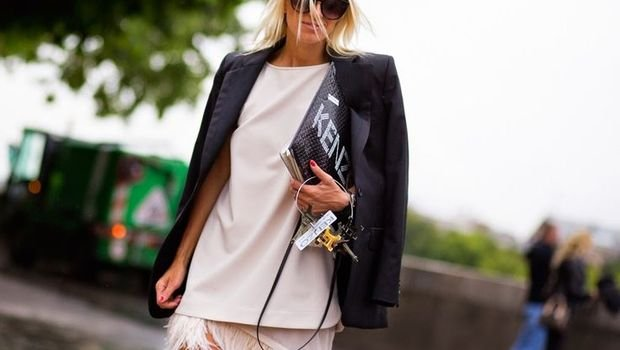 9a36e20ba موضة Header image fustany fashion style ideas chic ways to wear black and  white 18