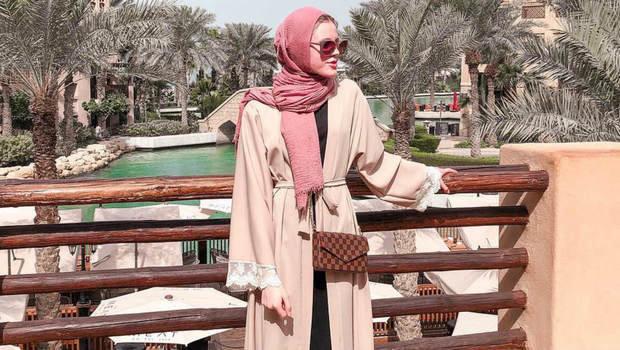 7ed003d02 موضة Header image nude abaya trend in ramdan 2019 fustany ar