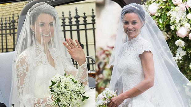09ae0735ff73a في ١١ صورة  مقارنة بين حفل زفاف بيبا ميدلتون وشقيقتها كيت ميدلتون