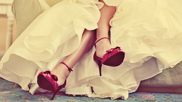 079f6382eb307 موضة Header image tips on how to choose your wedding shoes fustany main  image