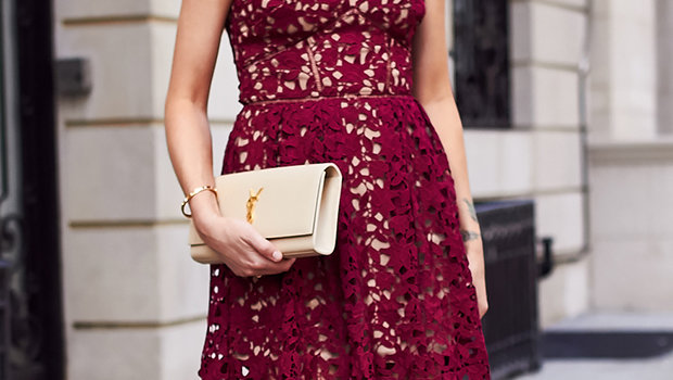 caef4881e موضة Header image accessories for red dress ar fustany main image