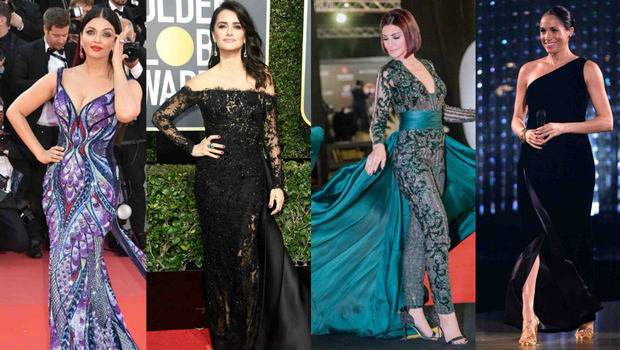1414ea6ce موضة Header image best celebs outfits during 2018 fustany main image