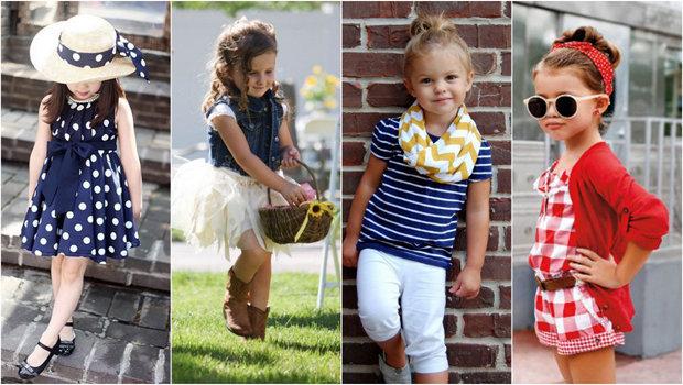 b7f6d2f1c بالصور: ملابس أطفال كاجوال للفتيات
