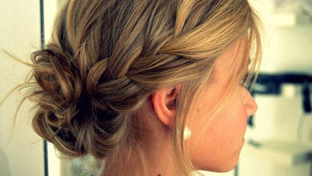 بالصور تسريحات شعر بسيطة مرفوعة