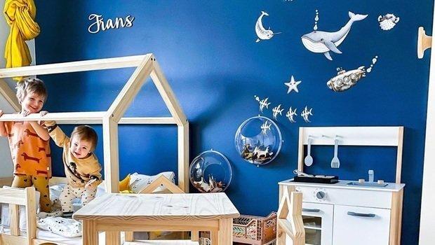 الوان حوائط اطفال from fustany.com