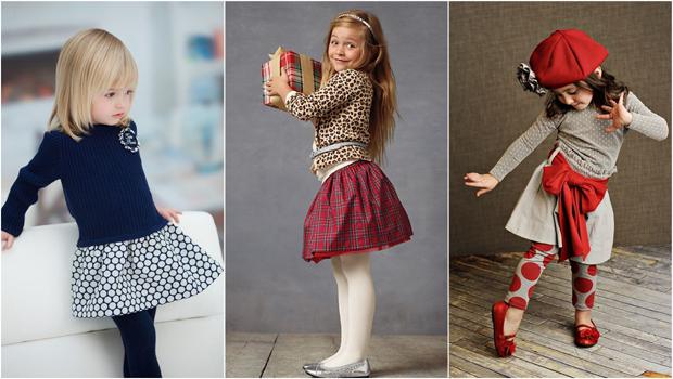 4c1daea81a7f6 بالصور  دليلك لتنسيق التنورات الرقيقة من ملابس الأطفال بجاذبية