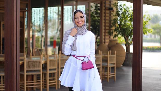 6ec9dcddd للمحجبات: أجمل أزياء مدونة الموضة فاطمة حسام