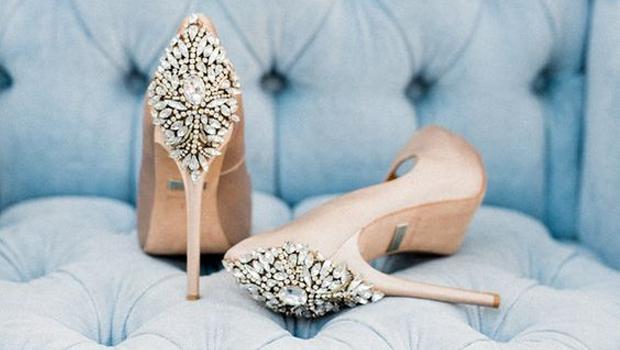eb5e0aecc ٣٠ موديل مميز من أحذية عروس 2016... لا تفوتك