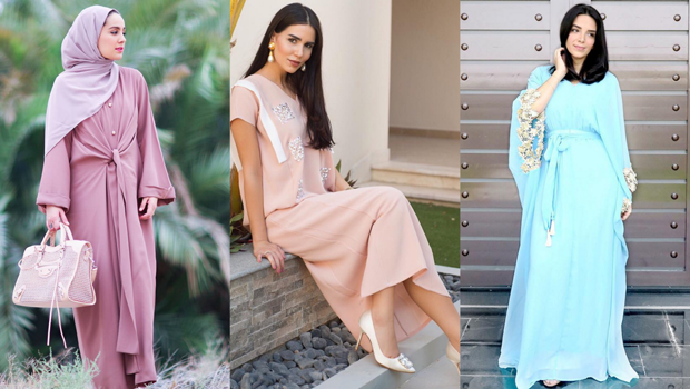 c51c273db بالصور: هكذا تألقن مدوني الموضة العرب بالقفطان والعباية في رمضان 2016