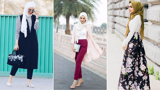 269e8c570ab32 موضة Header image spring hijab outfits main image fustany ar
