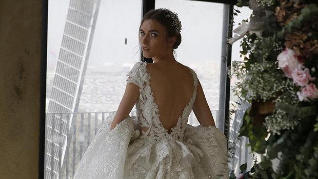 9c59b0f3f7c4d طوني ورد يقدم مجموعة فساتين زفاف ساحرة لعروس ربيع 2019