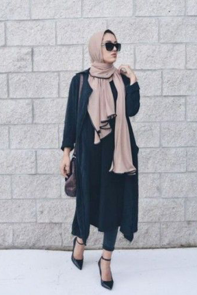 How to Style a Long Cardigan