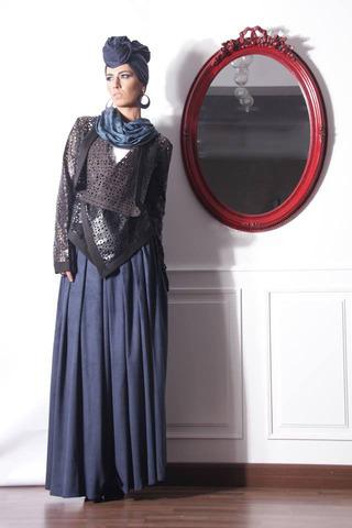 مجموعة ملابس عصرية للمحجبات من سارة العمري
