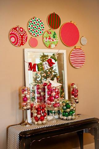 أفكار لتزيين المنزل في الكريسماس