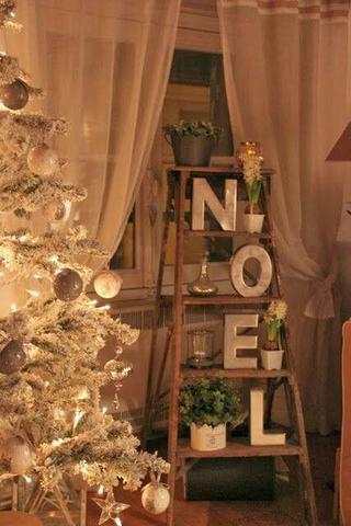 أفكار لتزيين المنزل في الكريسماس فستاني