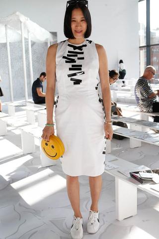 أزياء للحوامل جذابة مستوحاة من إيفا تشين